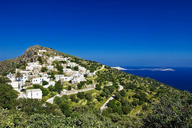 Nisyros - Village of Emborio  Greece