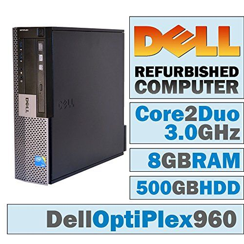 Introducing Dell OptiPlex 960 SFFCore 2 Duo E8400  300 GHz 8GB DDR2  500GB HDDDVDRWWINDOWS 7 PRO 64 BIT. Great product and follow us for more updates!