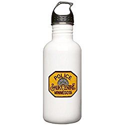 Sauk Centre Police Stainless Water Bottle 1 - Stainless Steel Water Bottle, 1.0L Sports Bottle