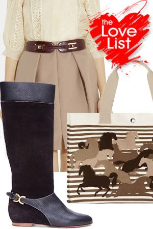 Equestrian Chic: The Love List