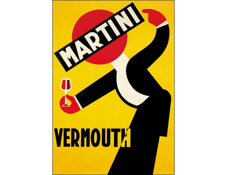 Martini Vermouth 1925 Vintage Poster Advertisement Decoration Art Print US Free US Post Reduced by VintagePosterPrints on Etsy