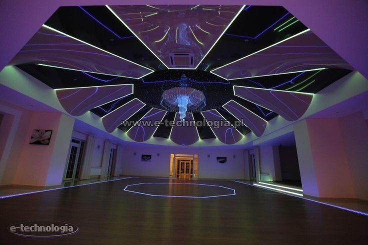 Oświetlenie LED dekoracyjne na wesele