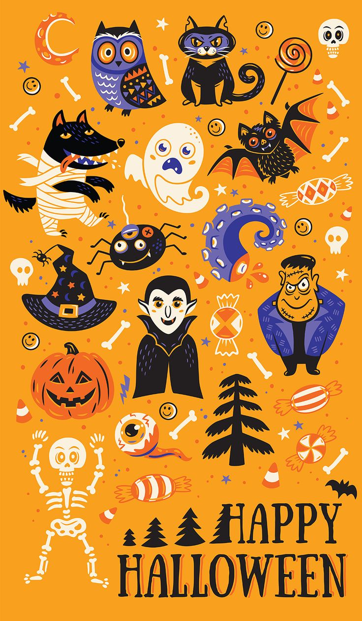 happy halloween on behance - Halloween Design