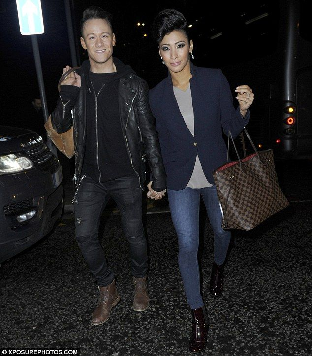 Michelle Keegan attends opening night of Strictly Come Dancing tour #dailymail