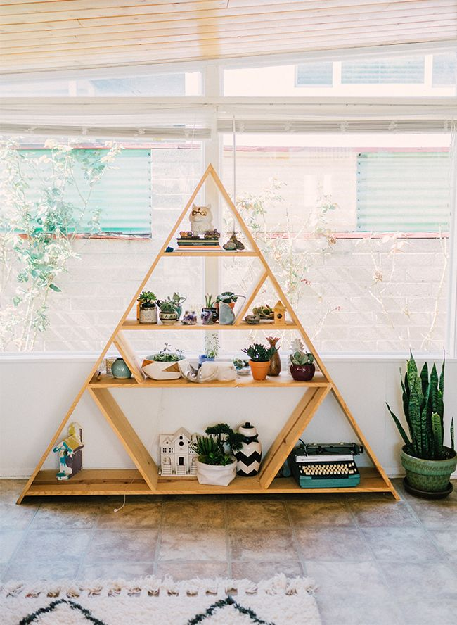 Thrift Shop Savvy Eclectic Home Tour Diy BookcasesBookcase