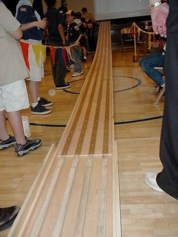pinewood derby track picture