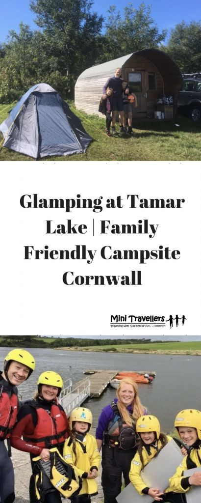 Glamping at Tamar Lake | Family Friendly CampsiteCornwall http://minitravellers.co.uk/glamping-%ef%bb%bftamar-lake-family-friendly-campsite-cornwall/ We were invited to stay at Tamar Lake campsite this August, in a 'glamping' pod. Tamar Lake straddles the borders of Devon and Cornwall- apparently the old border line falls in the middle of the lake!  The camspite is in a beautiful setting overlooking the lake and has around 20 pitches for either tents or campervans, some with electric hook…
