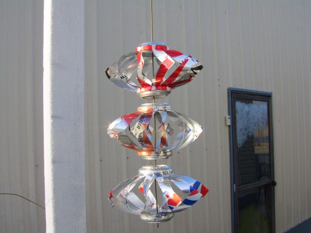 Pop can wind spinners pictures to pin on pinterest pinsdaddy for Aluminum can crafts patterns