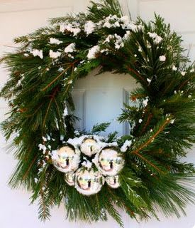 Holidays Decoration Ideas - Christmas Evergreen Wreaths