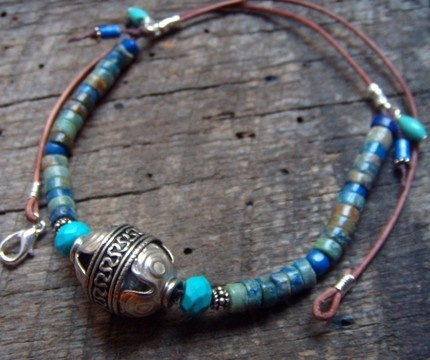 ethnical necklace