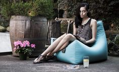 Indoor/outdoor Juniper Bean Bag Chair