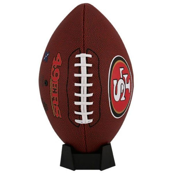 San Francisco 49ers Game Time Official Size Football - $29.99