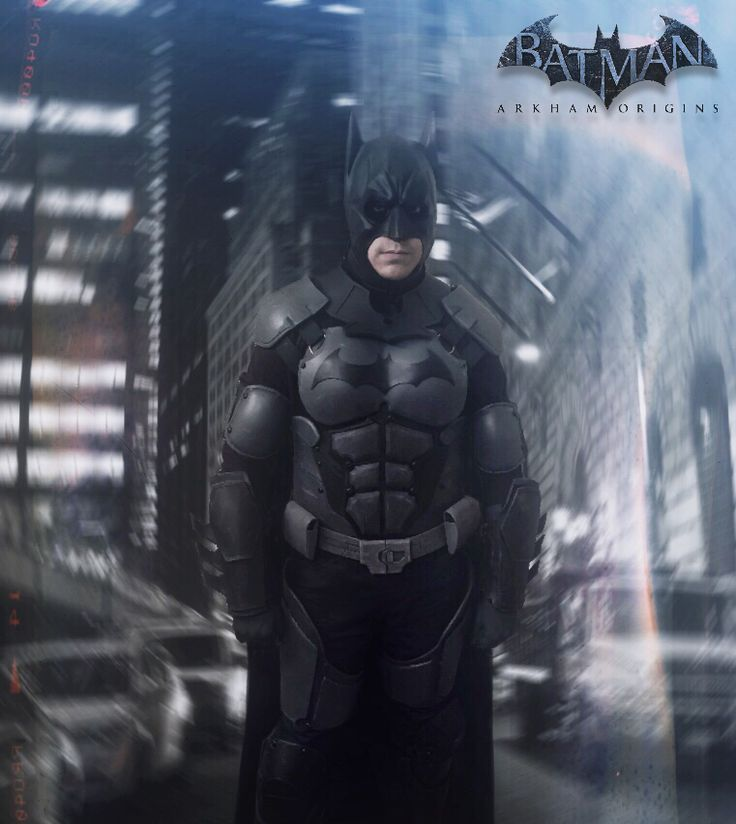 Batman Arkham Knight Batcave: Batman Arkham Origins Costume Cosplay. Made This Costume