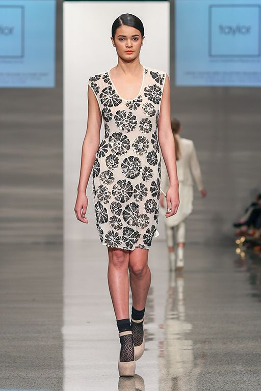 taylor 'Incision' collection at NZFW - Epoch Dress