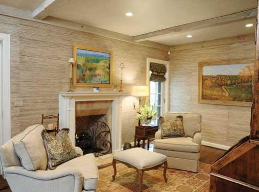 Living Room Remodel By Renovations Unlimited #natural #living #fireplace  #renovationsunlimited #housetrends