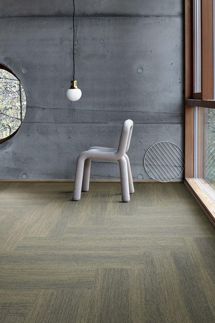 43 best colour green images on pinterest carpets carpet tiles interface touch of timber colour elm installation herringbone for open officelounge carpet tilesfloor baanklon Gallery