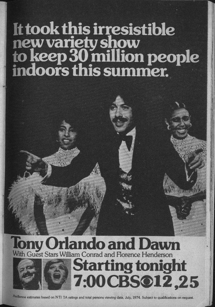 Tony Orlando and Dawn variety show