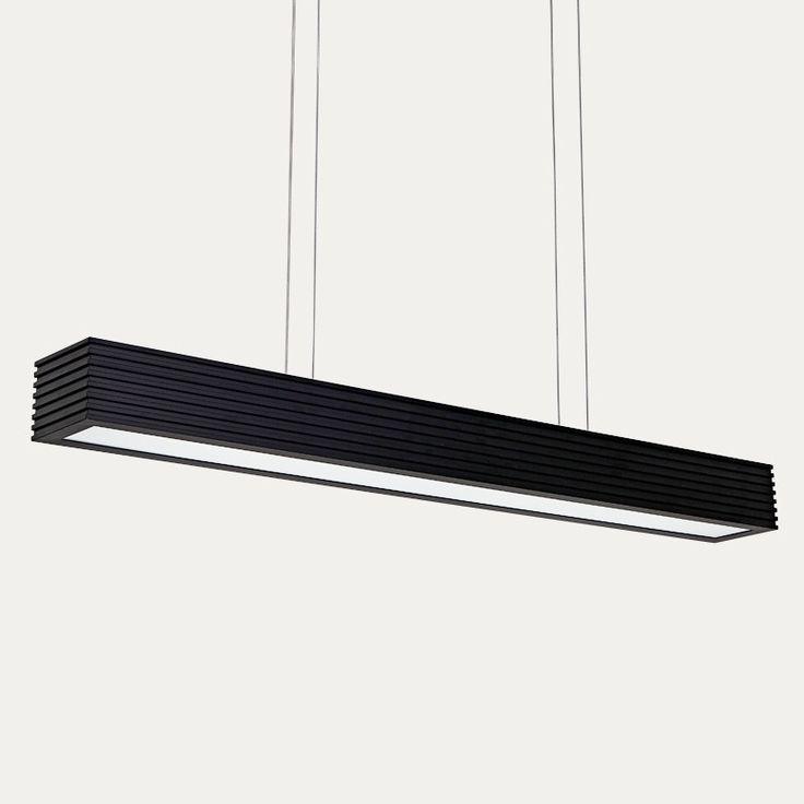 Moderne kronleuchter lampe rechteckigen kreative modernes Esszimmer/Büro licht neuer stil weiß/schwarz liefern