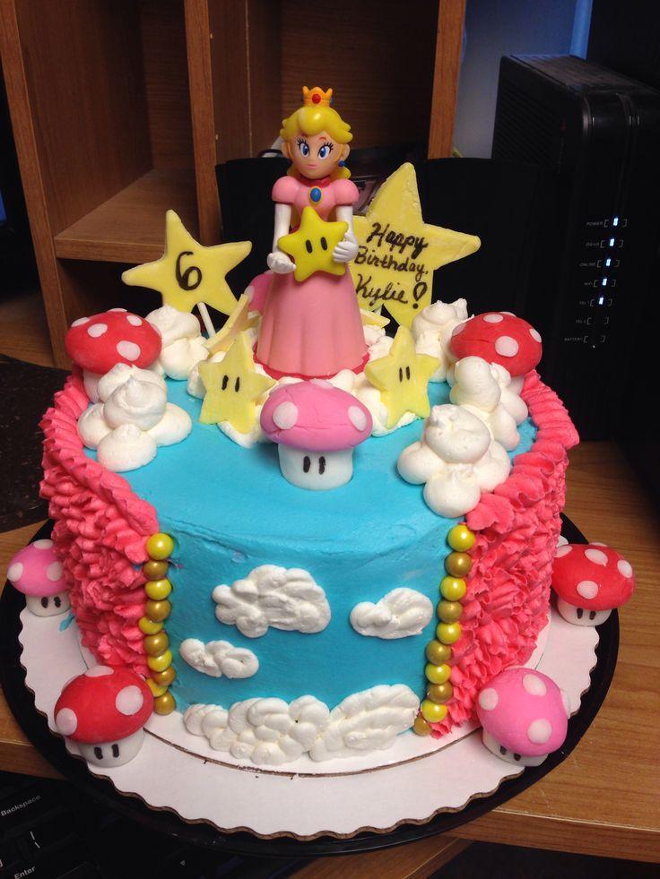 Mario Peach S Cake
