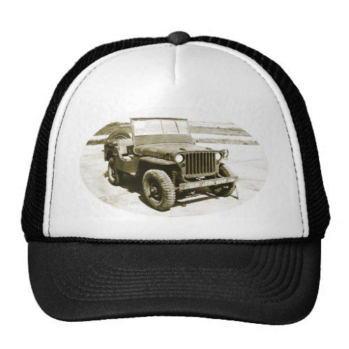 Willys MB 1943 Jeep Trucker Hat