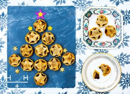 No Christmas is complete without mince pies. Try our ground almond version which is naturally free from grains, gluten and refined sugar.