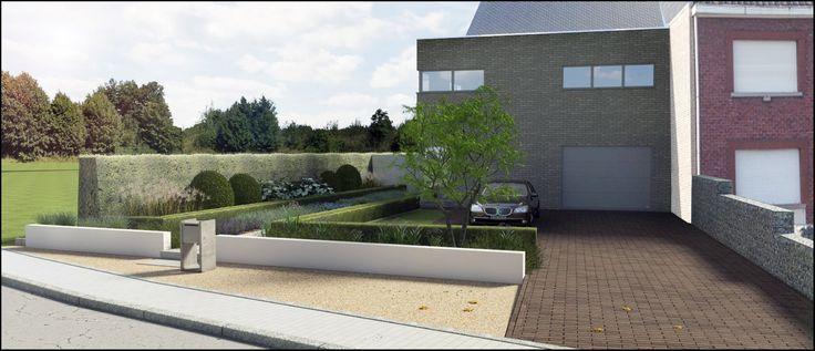 Parking voortuin google zoeken garden pinterest for Beeld tuin modern