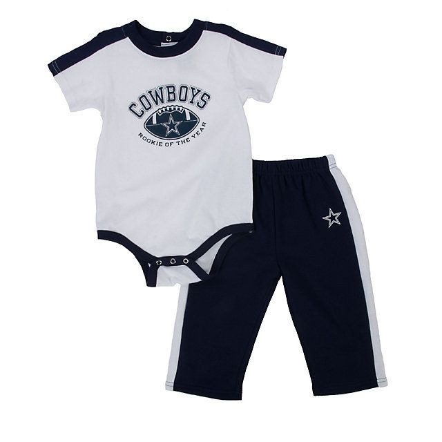 16ce352e NFL Dallas Cowboys Infant Bodysuit and Pant Set | Kids Dallas ...