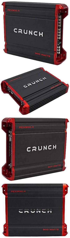 Car Amplifiers: Crunch Pzx900.4 900 Watt 4 Channel Great Sounding Car Audio Amplifier Amp -> BUY IT NOW ONLY: $63.99 on eBay!