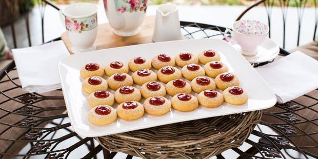 Try this Jam drop biscuits recipe by Chef Matt Moran. This recipe is from the show The Great Australian Bake Off.