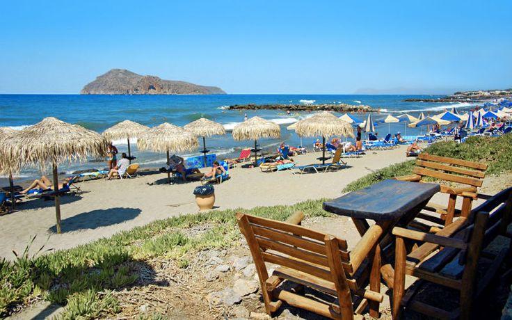 Tag på sommerferie til Kreta, så kan du rigtig slappe af på de mange skønne strande. Se mere på www.apollorejser.dk/rejser/europa/graekenland/kreta
