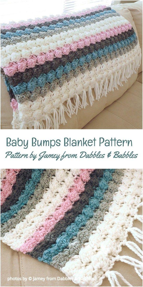 Baby Bumps Blanket Pattern Idea Crochet Babyblanket