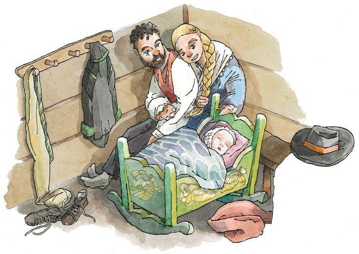 Jan Willem´s illustration blog: Folkesang: A Lullabye