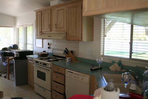 Mobile home makeover mobile home kitchen remodel the kitchen is in a 20 year old mobile - Mobile home kitchen designs and ideas ...