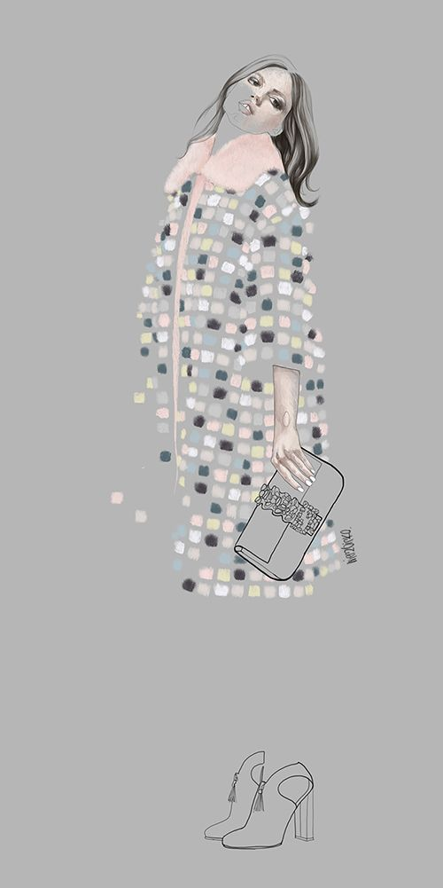 Fashion illustration // Agata Wierzbicka