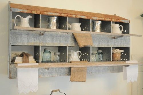 Nesting Boxes Wall Shelf.