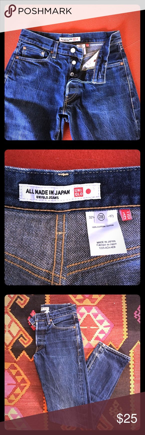 Uniqlo Jeans Uniqlo Jeans. High quality denim made in Japan. Size 28 Jeans Boyfriend
