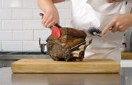 How to roast a rib of beef