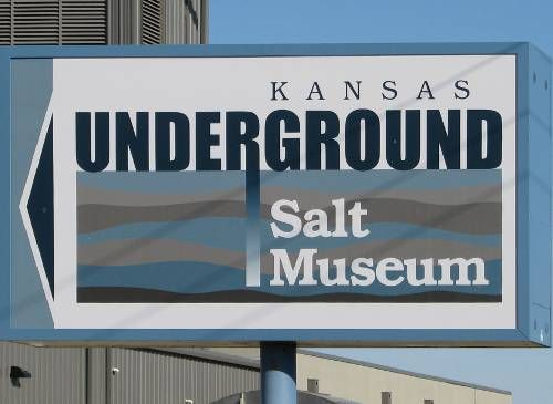 Yep an actual Salt Mine in Hutchinson, Kansas. My Bucket list is off the hook ;0)