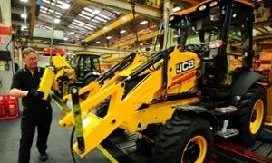 May 2015: JCB boss says EU exit could lift burden of bureaucracy on UK businesses.  JCB boss says that EU red tape is stifling UK businesses.