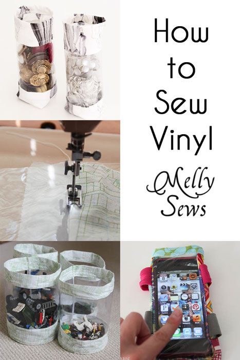 Tips for Sewing Vinyl - Melly Sews