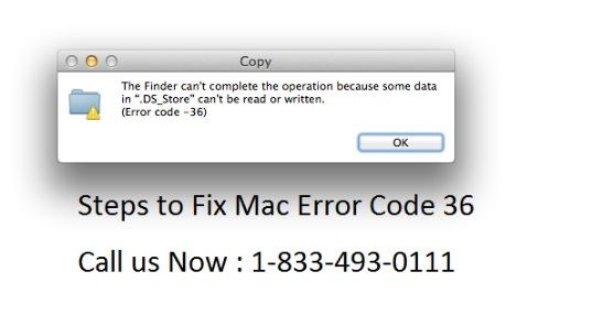 Fix Mac Error Code 36 on Mac OS X by Apple Technical Support