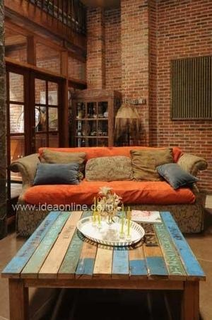 Used Material As New Furniture. Photographer: iDEA/Adeline Krisanti