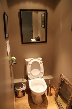 Les toilettes buscar con google aseos muy peque os pinterest originals deco and zen - Deco toilettes taupe ...