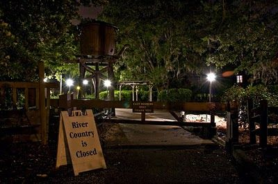 Basically, this guy sneaks onto Discovery Island (an abandoned Disney property) and takes pictures at night. Creepy and Awesome!