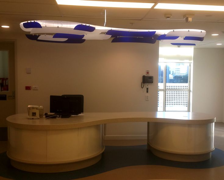 Reception desk sign for ADHB by Speedy Signs Newton