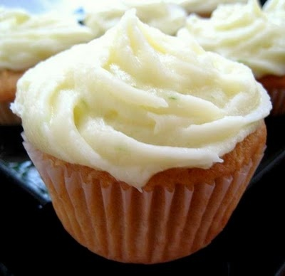 Coconut Cupcakes with Ginger-Lime Frosting