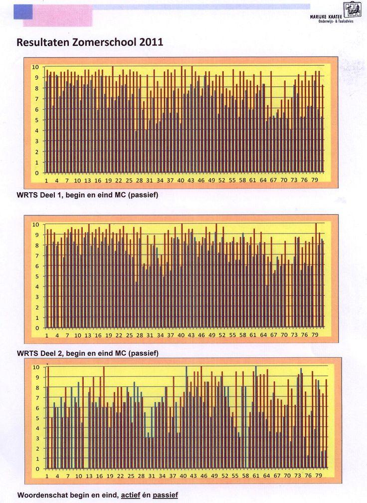 Scan Zomerschool resultaten 2011