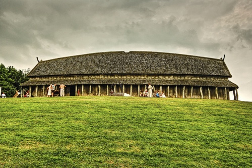 Longhouse viking