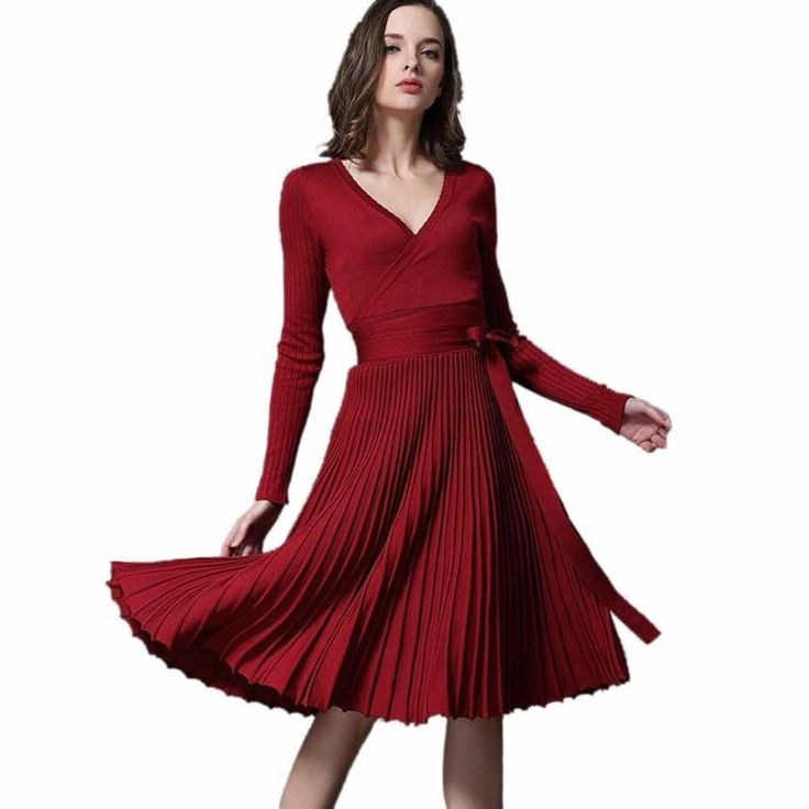 Gender: Women Pattern Type: Solid Silhouette: Straight Dresses Length: Above Knee, Mini Model Number: women sheath dress Sleeve Length: Full Brand Name: feitong Decoration: Draped Style: Casual Season