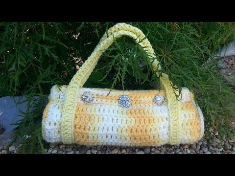 CROCHET How to #Crochet ( Crocodile stitch Handbag) Purse #TUTORIAL #90 LEARN CROCHET - YouTube